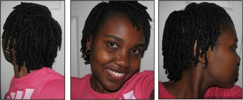 My Main Length Retention Strategy Will Be Protective Styling Here Are Pictures Of Last Set Twists The Only Product That I Used For These Two Strand