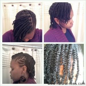 Remarkable Naturalness A Journey Through The Lengths Two Strand Twists Short Hairstyles For Black Women Fulllsitofus